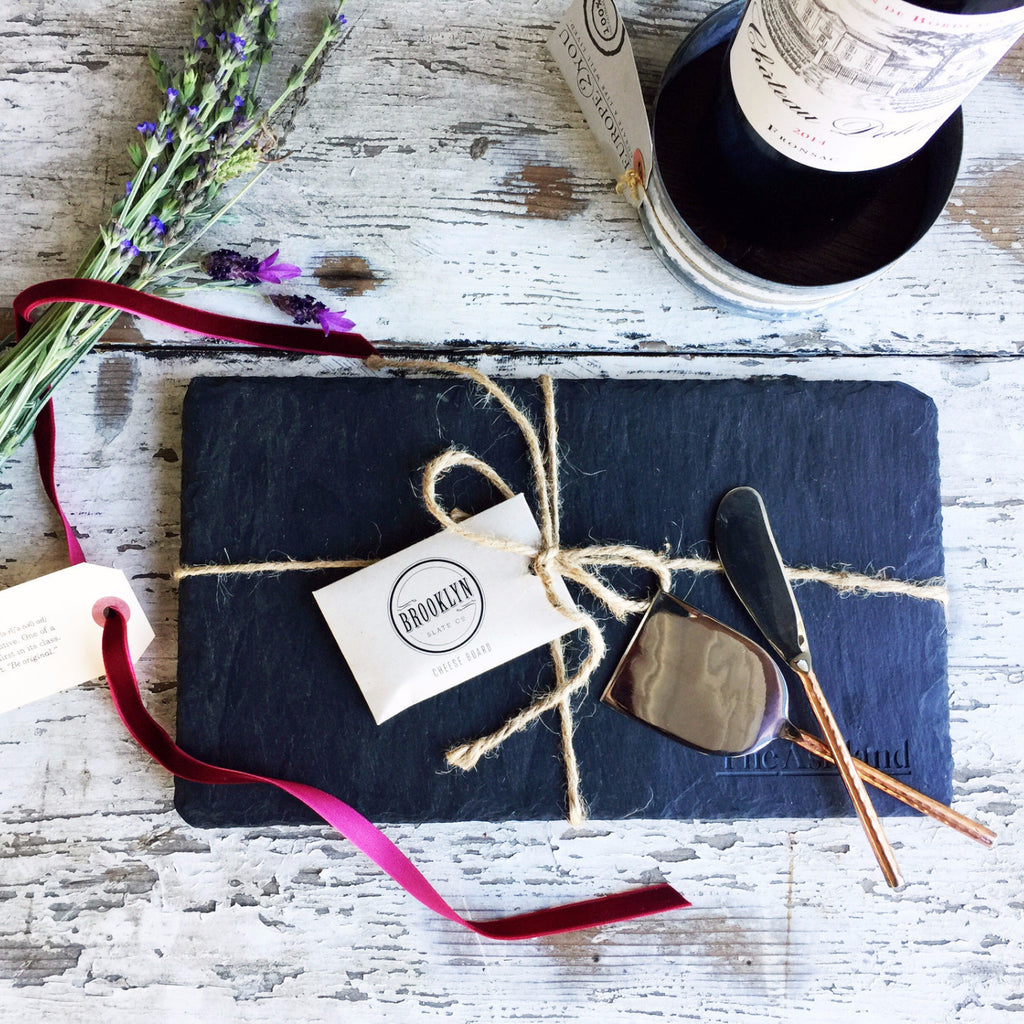 Nifty Package Co. Gourmet Gifts: Brooklyn Slate & Cheese Tools