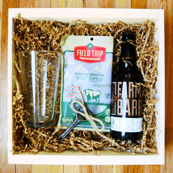 Craft Beer & Jerky Box