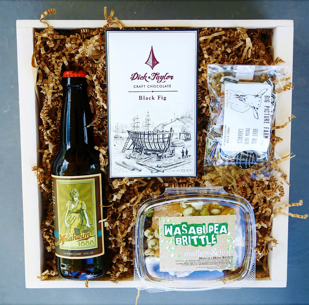 Craft Beer & Sweets Box
