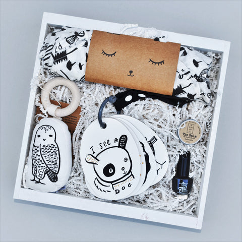 Nifty Package Co. Gourmet Gifts: Unique Baby Gift Crate Wee Gallery