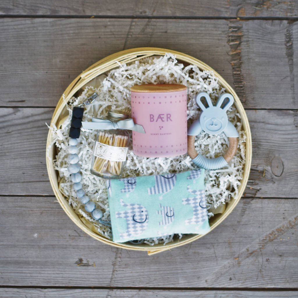 Nifty Package Co. Gourmet Gifts: Heirloom Gift for Mom and Baby