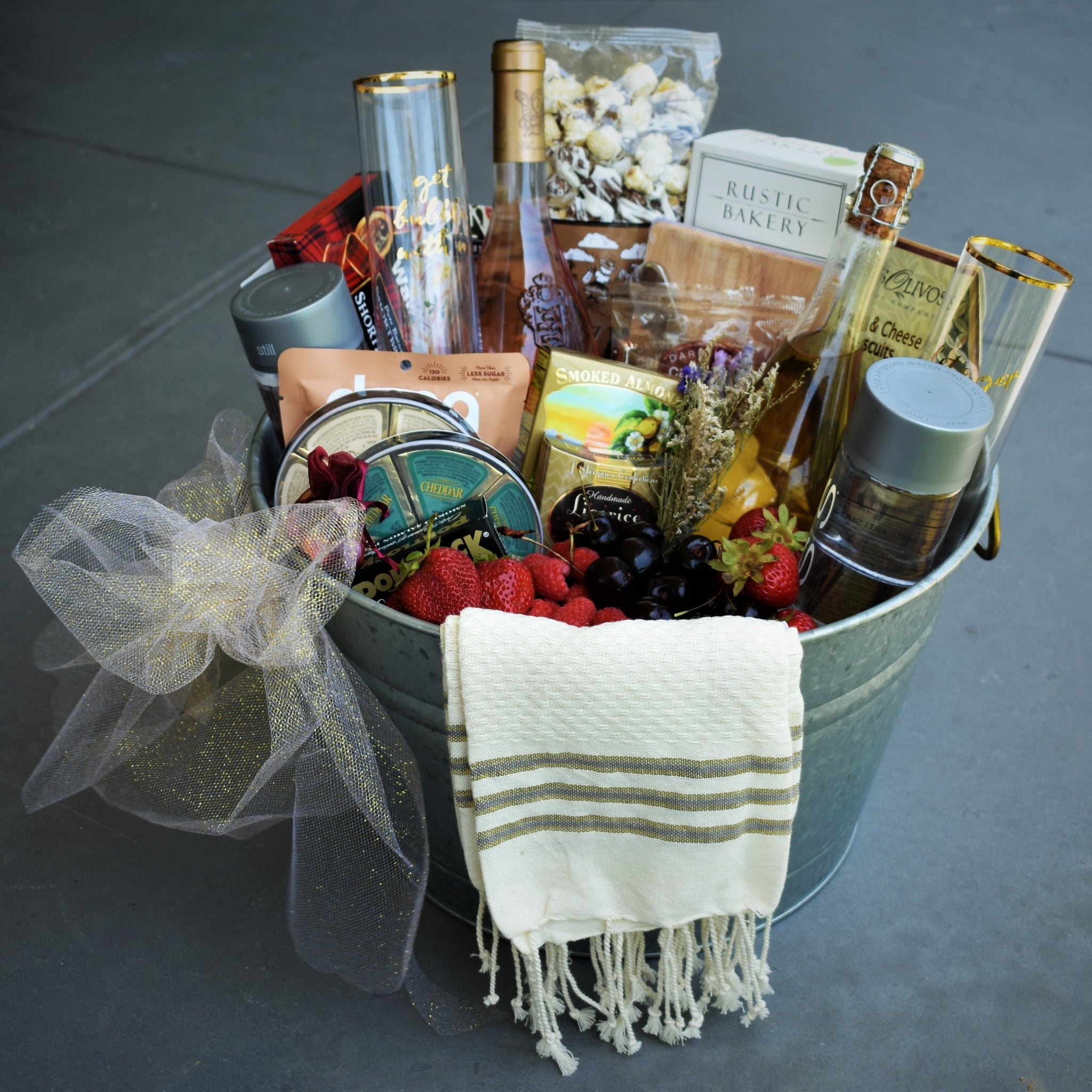 Nifty Package Co. Gourmet Gifts: Holiday Celebration Foodie Gift Basket