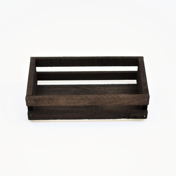 Small Rectangle Wood Crate
