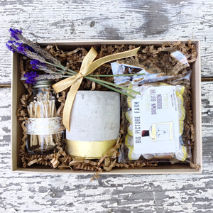 Nifty Package Co. Gourmet Gifts: Little Bit of Love, Caramels and Candle
