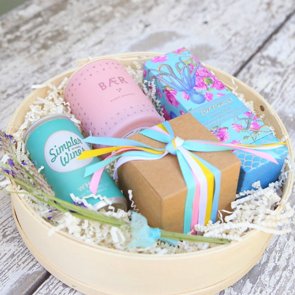 Nifty Package Co. Gourmet Gifts: Pretty Pastel Gift