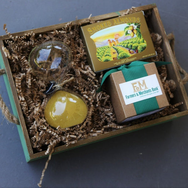 Nifty Package Co. Gourmet Gifts: Time is of the Essence Box