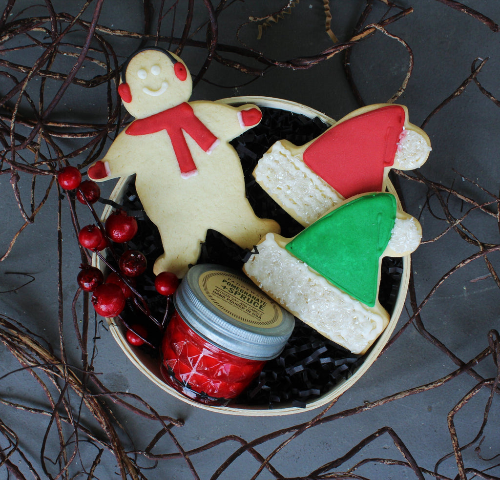 Nifty Package Co. Gourmet Gifts: Holiday Cookie Gift Set