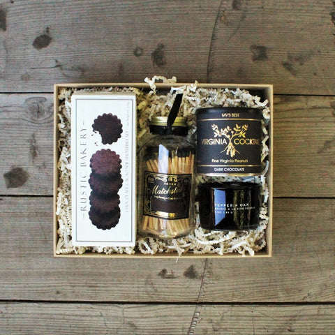 Black Pepper + Oak Candle Gift