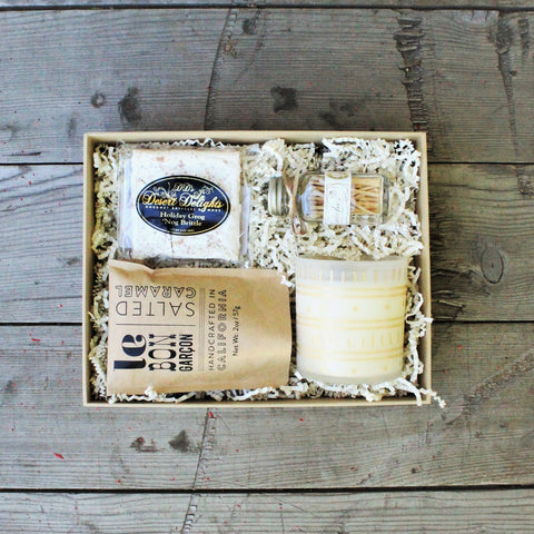Holiday Lights Candle Gift - Nifty Package Co
