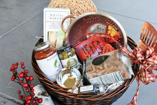 Master Chef Italian Dinner Gift Basket - Nifty Package Co