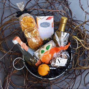 Taste of Orange Gift Basket - Nifty Package Co