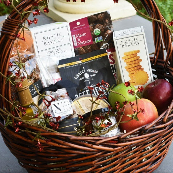 Large Holiday Snack Basket