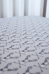 woodland deer arrow fitted cot sheet