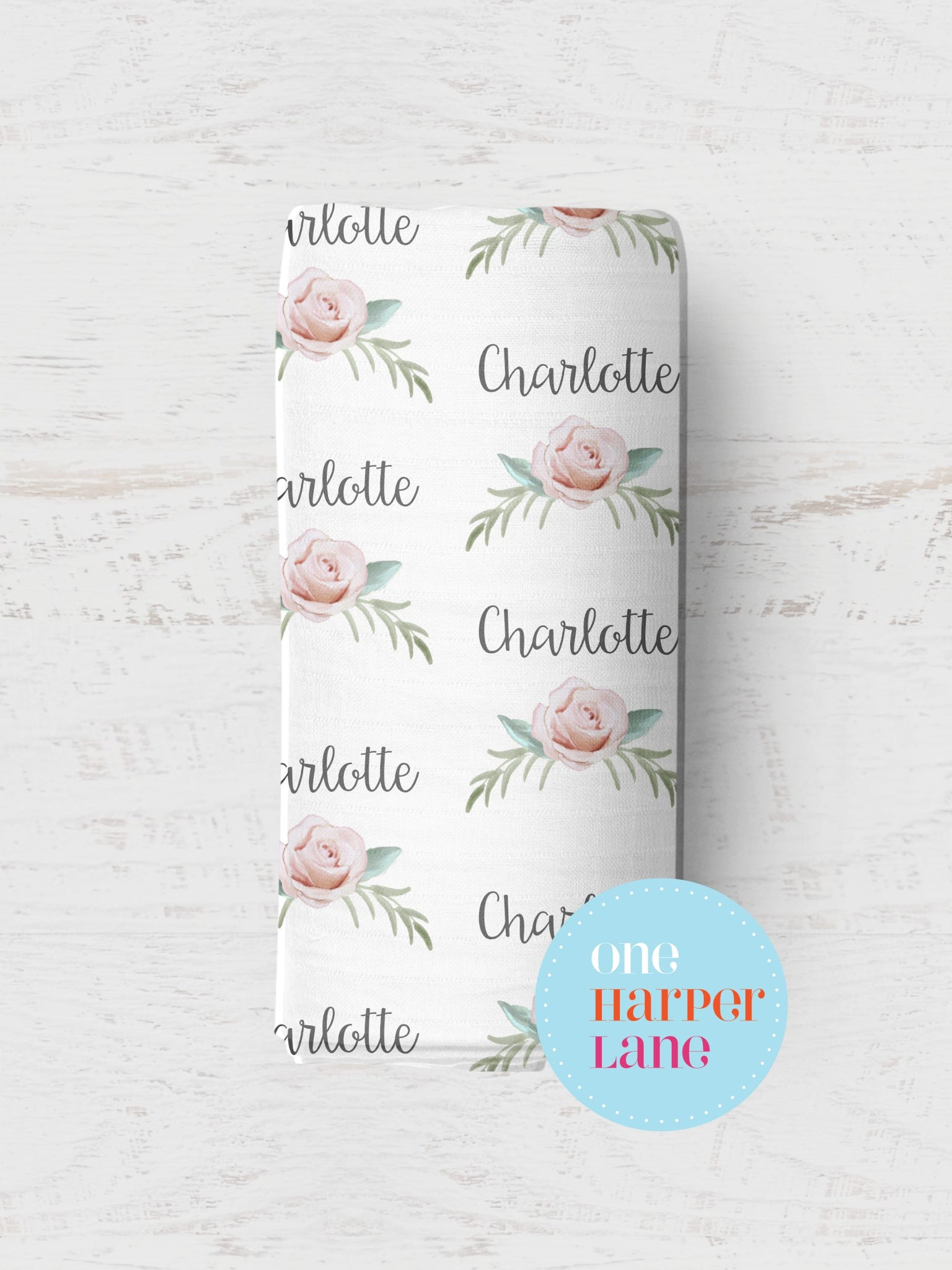 Personalised Wrap - Charlotte Floral