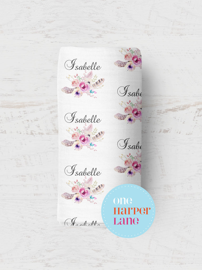 Personalised Wrap - Isabelle Floral