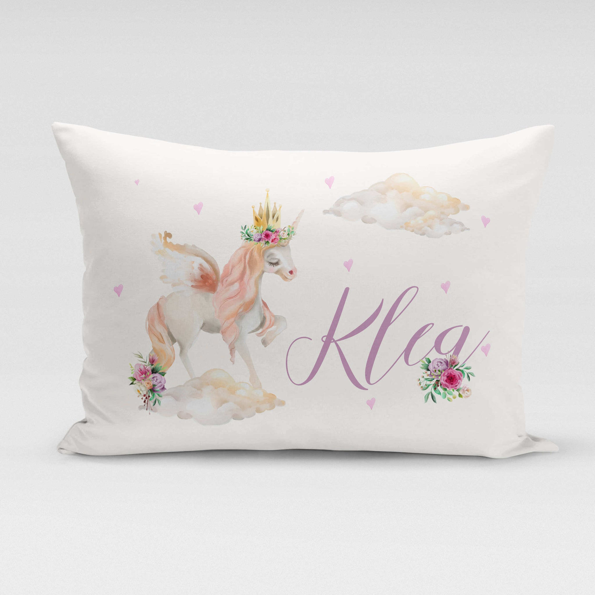 Personalised Pillowcase - Dreamy Unicorn