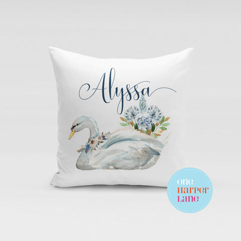 Swan Lake SWAN Cushion - Pre Order