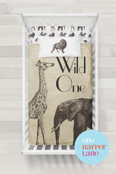 Vintage Safari - Wild One Quilt