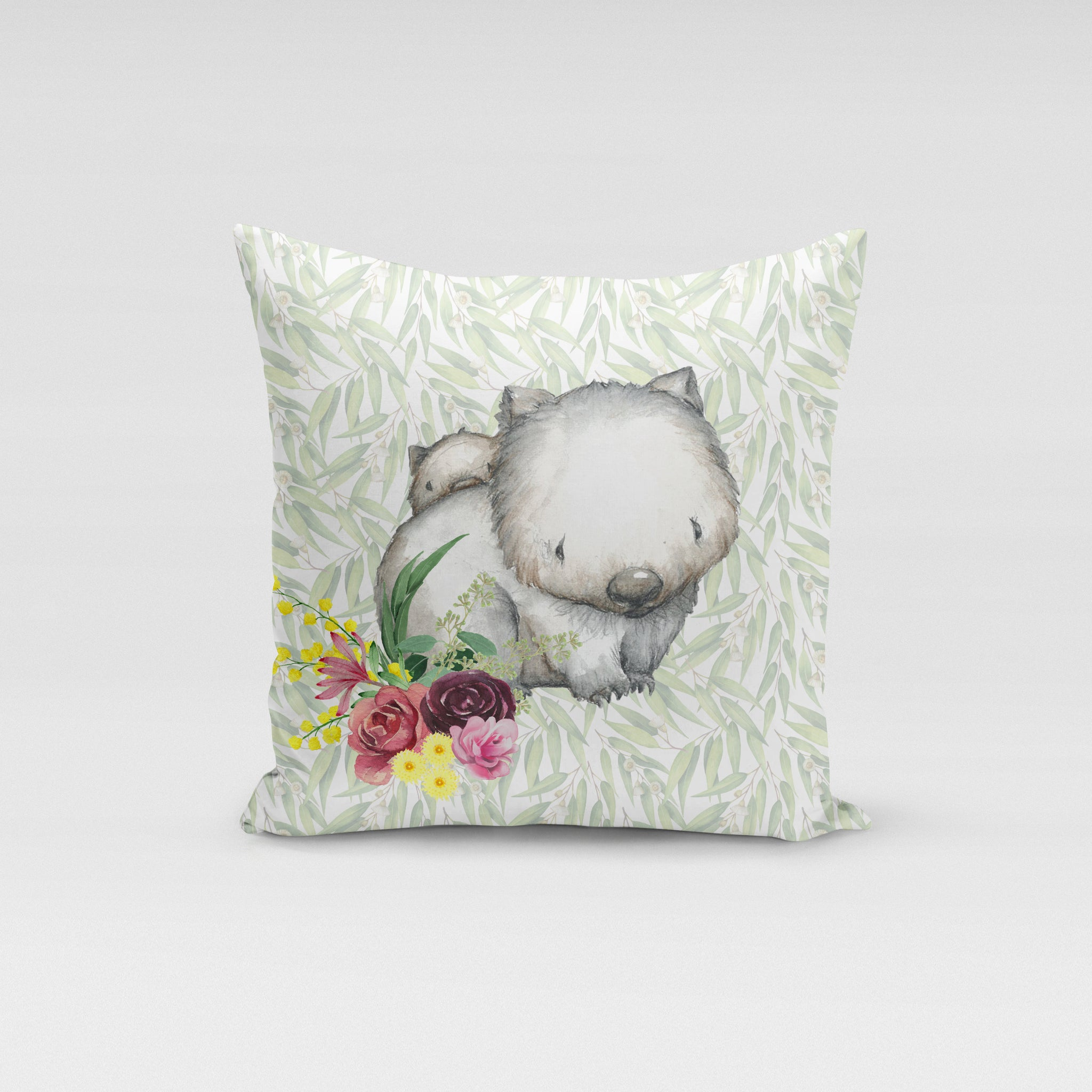 Wombat Floral Cushion Cover