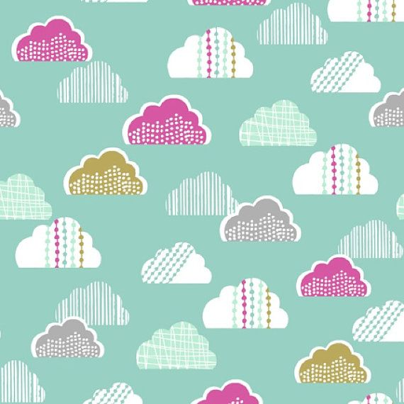 Dashwood Studio - Petite Street - Clouds in Teal