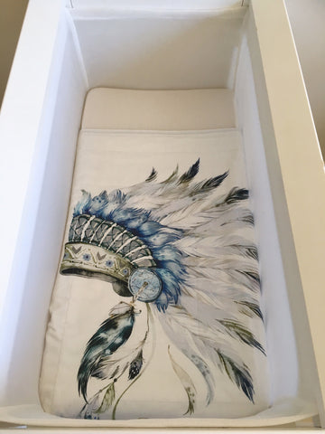 Little Chief Pram / Bassinet Quilt