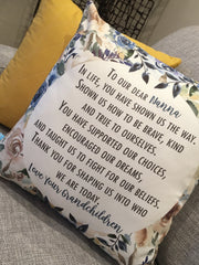 Keepsake Tea Towel