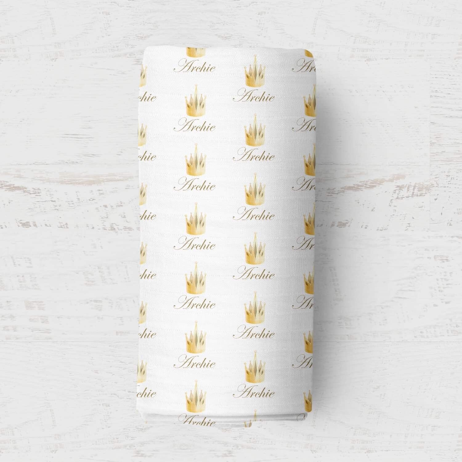 Personalised Wrap - Golden Crown