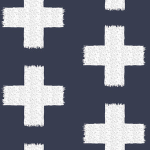 Pram Liner - Navy Cross