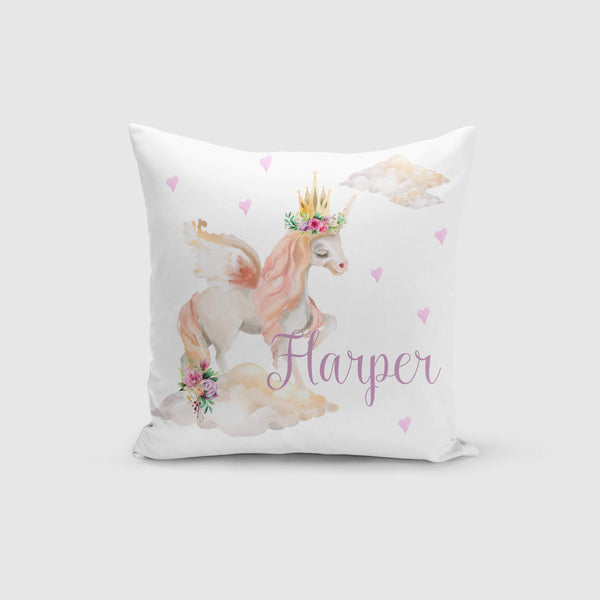 Personalised Cushion Cover Only - Dreamy Unicorn