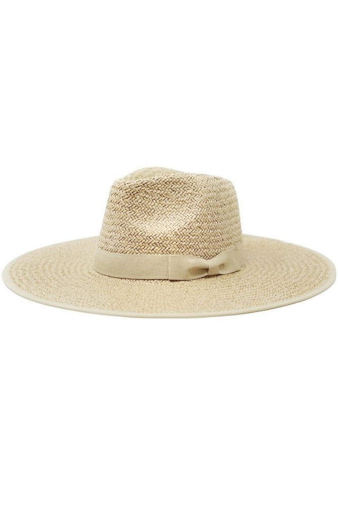 Emma Paper Straw Hat- Natural - Sweetly Striped