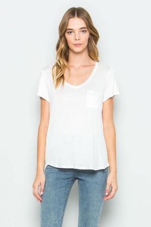 Your Favorite Basic Picket Tee - Ivory