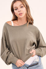 Olive Everyday Sweater Top