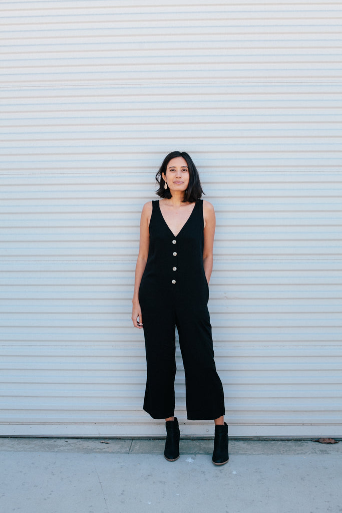 Boho  Jumpsuit - Sweetly Striped
