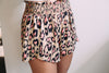 Mocha Leopard Shorts - Sweetly Striped