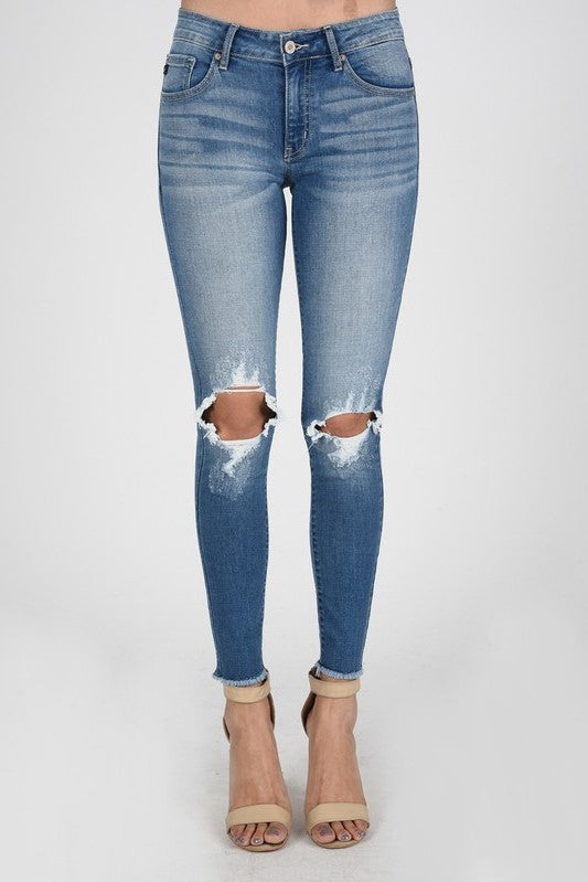 Casual Chic Skinny Denim - Sweetly Striped