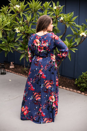 Floral Maxi Dress - Sweetly Striped