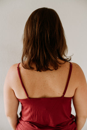 Embroidered Camisole - Sweetly Striped