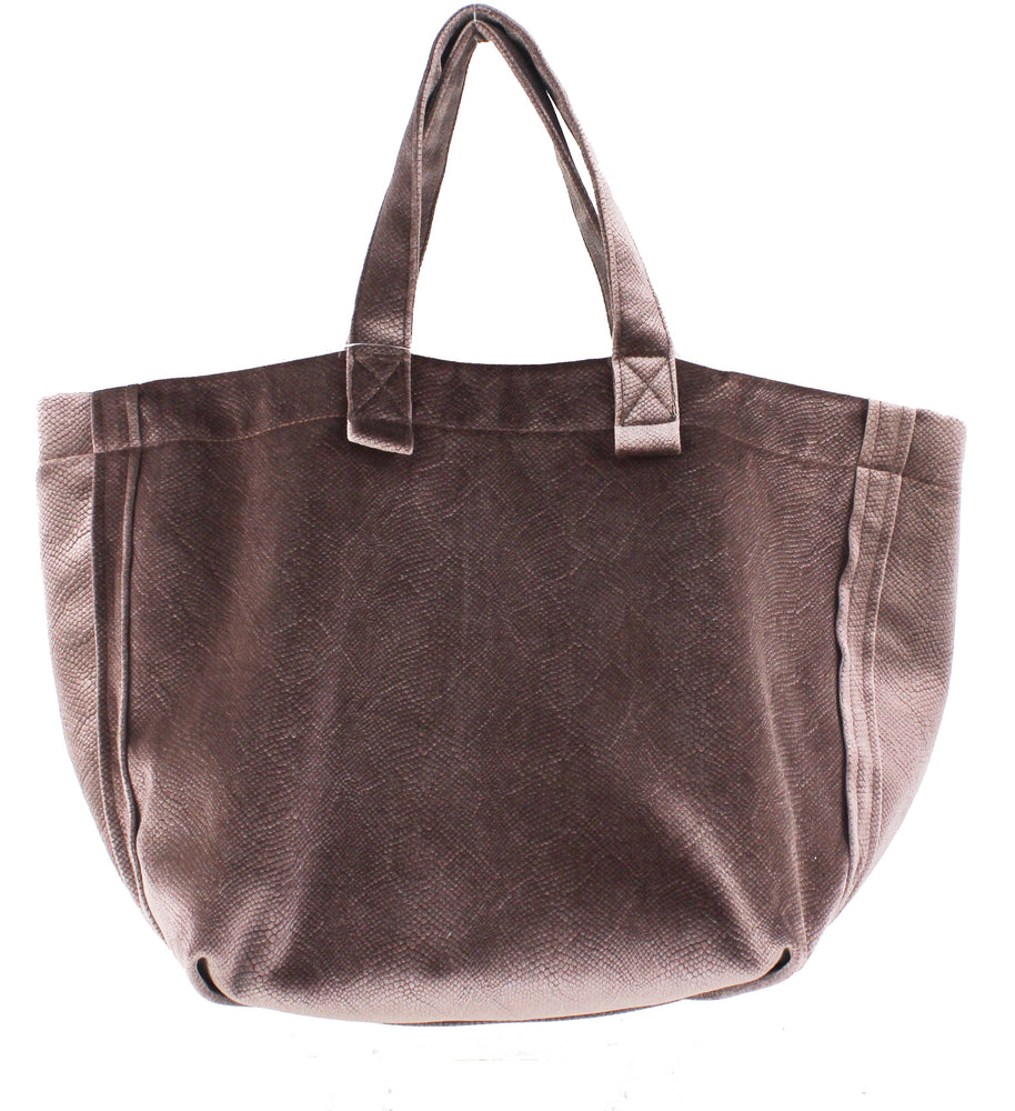 Snake Skin Weekend Tote - Sweetly Striped