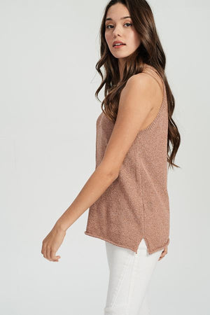 Beachy Knit Tank - Sweetly Striped