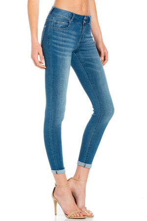 Skinny Pull-On Jeggings - Sweetly Striped