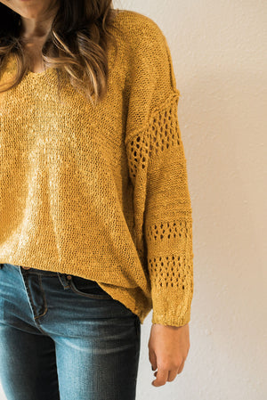 Dreamy Sweater Top - Sweetly Striped
