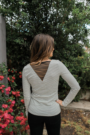 Striped Jersey Top - Sweetly Striped