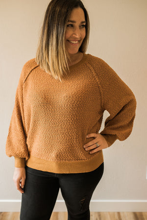 Autumnal Pullover - Sweetly Striped