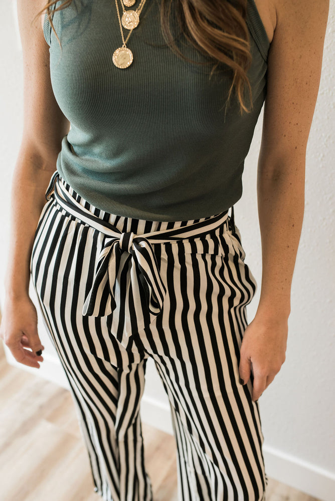 Meet Me In Manhattan Culottes - Sweetly Striped