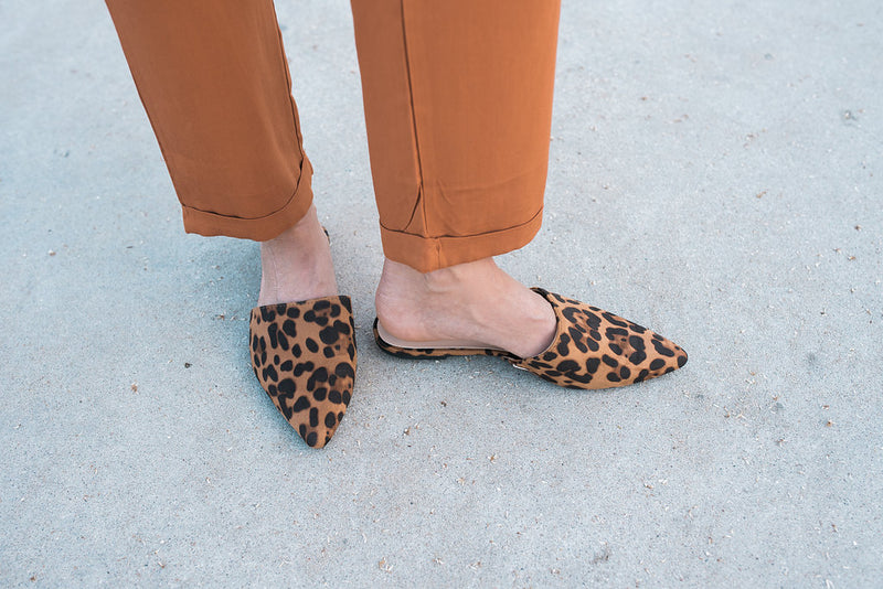 Leopard Slide - Sweetly Striped