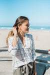 Plaid Blouse - Sweetly Striped