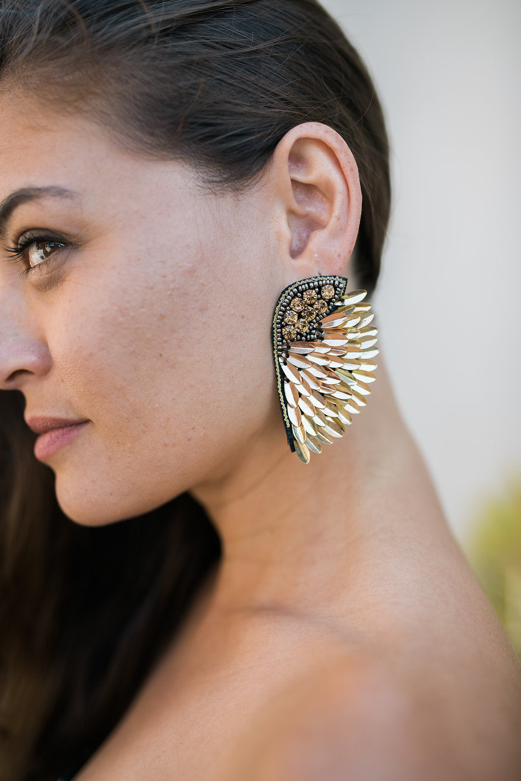 Angel Wings - Gold - Sweetly Striped