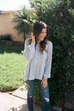 Brushed Peplum Top