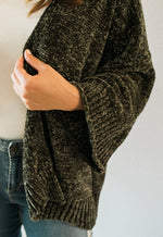 Chenille Cardigan - Sweetly Striped