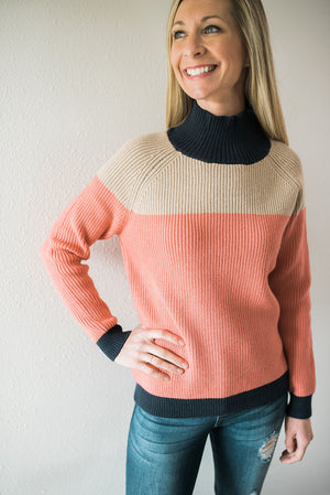 Color Block Sweater - Sweetly Striped